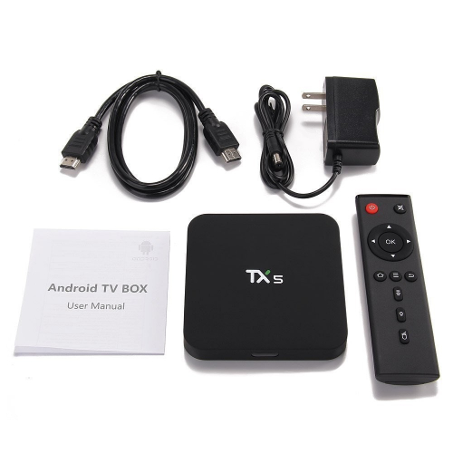 Android TV Box TX5 Tặng Cáp AV 3.5 Ram 2G, Android 6.0